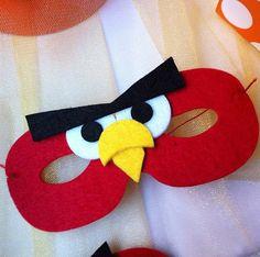 Angry Bird Maske aus Filz