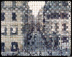 TEXTUS - Seung Hoon uses a process to overlay or weave together film strips