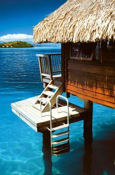 Französisch Polynesien bietet mit Bora Bora immer noch die interesantesten Bademöglichkeiten in Micronesien. Bei Traumhaften Wasser Temperaturen ist es Erholung Pur