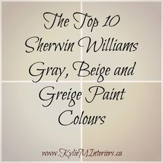 Williams : 5 of the Best Neutral / Beige Paint Colours the best, top 10 sherwin williams gray, beige and greige paint colours for any room in your homethe best, top 10 sherwin williams gray, beige and greige paint colours for any room in your home Beige Paint Colors, Interior Paint Colors, Paint Colors For Home, Wall Colors, House Colors, Gray Paint, Interior Painting, Color Paints, Best Greige Paint Color