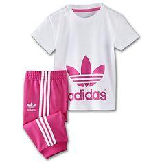 adidas Infants & Toddlers Track Pants Plus Tee