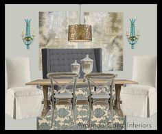 Dining room by Amanda Carol at Home