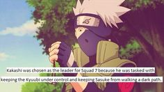 Facts from Naruto about Kakashi