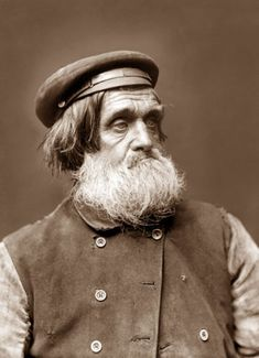 Whitby fisherman, Yorkshire character ''Tarry'' Wilson - Whitby Late 1800s