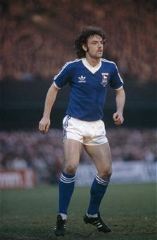 John Wark of Ipswich Town in Retro Football, Football Kits, John Wark, Ipswich Town Fc, Creative Video, Stock Pictures, Image Collection, Documentaries, Kicks