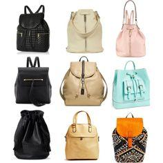 Spring 2014 Trend: Backpacks