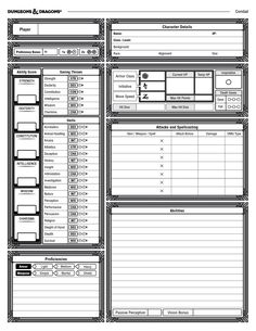Links to updated form-fillable PDFs at the bottom of this description! Link to a Discord channel for contact also included. This custom, edition character sheet was made to be familiar for veteran players while maintaining it own distinct identity! Dungeons And Dragons 5e, Dungeons And Dragons Characters, Character Profile, Kid Character, Character Design, Character Sheet Writing, 5e Character Sheet Pdf, Gurps Character Sheet, Dm Screen