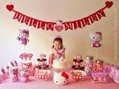 Sweet Hello Kitty Birthday Party Ideas Girl Birthday Party Ideas