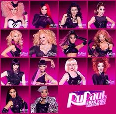 I'm not ashamed in the least that I am OBSESSED with this show! Rupaul's Drag Race Season 6
