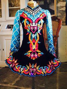 **Celtic Couture**Irish Dance Solo Dress Costume**