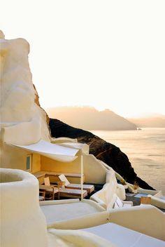 Stunning sunset @ Santorini GREECE