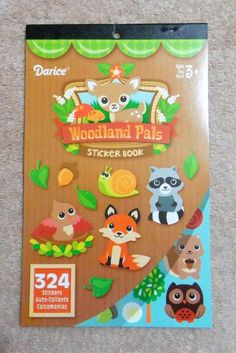 Darice Sticker Book - Woodland Pals - Woodland Animals #Darice