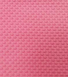Performance Fabric-Wicking Mesh Knit PinkPerformance Fabric-Wicking Mesh Knit Pink,
