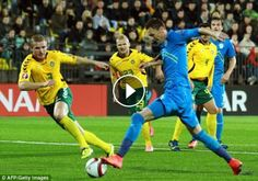 You are watching football highlights of World Cup 2016 UEFA qualification group…