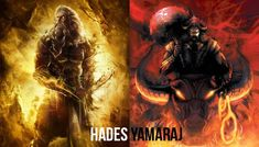 Hades is the ruler of the Underworld in Greek mythology and Yamaraj ruled the underworld in Indian mythology. They are both judges of the deceased souls and send them to the appropriate afterlife. Both underworlds have hounds of Hell and guardians; Greek Goddess Of Wisdom, Greek Gods And Goddesses, Greek Mythology, Saraswati Devi, Similarities Between, Departed Soul, Indian Gods, Sanskrit, Underworld
