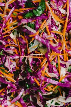 This apple cider vinegar coleslaw recipe is easy, fast, and versatile. It's a nutrient dense no mayo coleslaw, packed with Vitamins A and C. Apple Cider Vinegar Coleslaw, Apple Cidar Vinegar, Red Cabbage Coleslaw, Purple Cabbage Slaw, Paleo Coleslaw, Healthy Coleslaw Recipes, Carrot Slaw, Apple Slaw, Apple Fennel Slaw Recipe