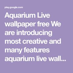 Android App Aquarium Live Wallpaper Android Central By Android App