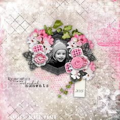 Sweet-Chick Scrap and Co My page with Fade into You by Angel's Design