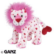 Webkinz Plush Stuffed Animal Love Lion im trying to collect all the lions and this is one of the ones I don't have yet