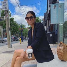 Drink your coffee, it's chaos out there.☕️ * * * * * * * * * * * * * #torontolifestyle #torontocreators #uklifestyle #torontofashioninfluencer #citylifestyle #torontofashionblogger #torontoinsta #torontocityvibes #ootdfashion #ootdinspiration #citygirls #citygirlssummer #yorkvillefashion #coffeevibes #aritzia #samimademedoit #cultgaiabag #sunglassesfashion #sunglasseslover Toronto City, Uk Lifestyle, Ootd Fashion, Summer Girls, Drink, Coffee, Blog, Inspiration, Outfits