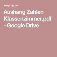 Aushang Zahlen Klassenzimmer.pdf - Google Drive