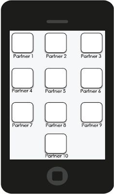 FREE! Partner Management Cellphone freebie!! So much fun for students to find partners! And it's a teacher management dream! FREE! Young Teacher Love by Kristine Nannini