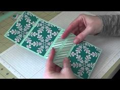 ▶ Stampin Up! - Pop Up Gift Card Holders - YouTube BabyTweetums Dec 2014
