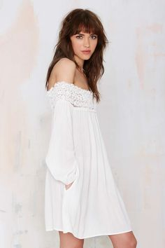 Margaritaville Off-the-Shoulder Dress - White