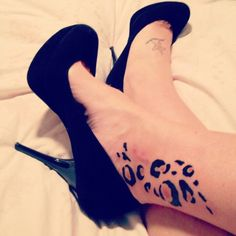 30+ Cheetah and Leopard Print Tattoos for Women   Cuded