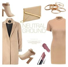 """Neutral night out"" by nora-jakucs ❤ liked on Polyvore featuring mel, Bamboo, NYX and Kendra Scott"