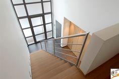 Renovatie u modern u woonkamer u gietvloer u interieur