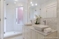 This master bath has a spa feel on Realtor.com