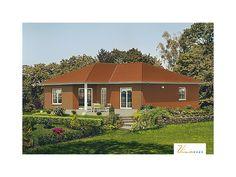 Kuckuckstein I - #Einfamilienhaus von VIVA MASSIVHAUS GmbH   HausXXL #Bungalow #klassisch #Walmdach