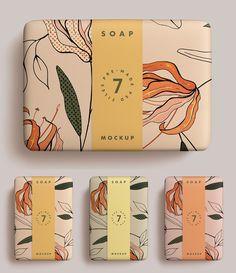 mockup soap bar Soap Bar MockupYou can find Packaging inspiration and more on our website Gift Box Packaging, Soap Packaging, Brand Packaging, Design Packaging, Soap Labels, Cosmetic Packaging, Design Food, Web Design, Logo Design