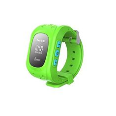 GBD GPS Tracker Smart Watch for Kids with Sim Card Smartwatch Phone Anti-lost Finder SOS Children Fitness Tracker Wrist Watch with Pedometer Parents Control App for Smartphone (Green) Q50, Smartwatch, Wearable Device, Wearable Technology, Gps Tracker Watch, Cartier, Location Finder, Watch For Iphone, Gps Tracking Device