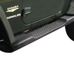 Mopar Factory Molded Side Steps for JK Jeep Wrangler 2 Door