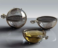 Space Age Tea Sets: Have High Tea With Style With Futuristic Designs