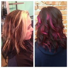 Before + after by Joan Satterlee > Theory Hair Salon > Montana