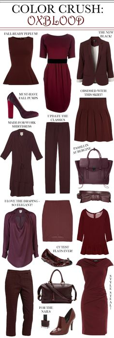 Im pretty sure everyone else on earth calls it maroon. Or maybe it is just those of us who live in Texas.