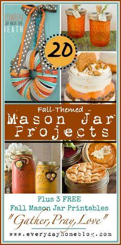 I am Falling Into Autumn! (20+ Free Fall Printables!)