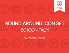 I created this set icon pack for personal use on my projects. This pack is now available for download here. If you like it, you are able to use them, just click on the download link. Enjoy it!