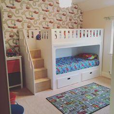 Flexible and versatile extendable bedsteads: Beds for Beds for 56 kids loft beds uk, loft bed kids bedroom ideas children intended GQHQBHL Bunk Beds With Stairs, Cool Bunk Beds, Kids Bunk Beds, Loft Beds, Cabin Beds For Boys, Toddler Cabin Bed, Childrens Bunk Beds, Kids High Beds, Kids Beds For Boys