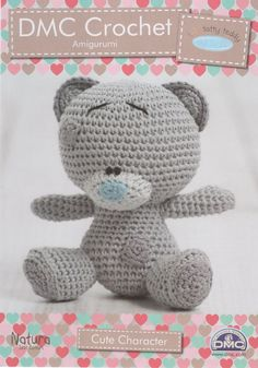 DMC (15283L/2) Tiny Tatty Teddy Amigurumi Crochet Pattern - Cute Character