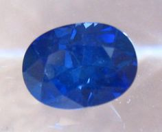 1.6 Carat Oval Royal Blue Sapphire for Engagement Ring with AGL Report, by JuliaBJewelry