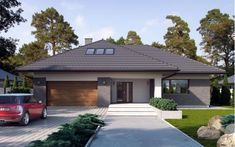 WW Hijab pelo y hijab Beautiful House Plans, Beautiful Homes, My House Plans, Bungalow House Design, Cottage Plan, Cabin Homes, Dream Rooms, Building A House, New Homes