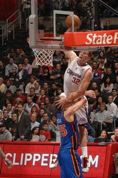 "Blake Griffin!!! Said ""Hold my D"""