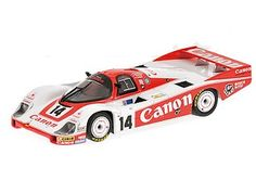 Porsche 956 (Richard Lloyd Racing Le Mans 1983) in Red and White (1:43 scale by Minichamps 430836514)