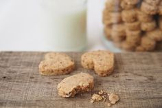 Heart Shaped Almond Cookies