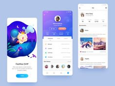 SVIP App UI designed by Lewis. Connect with them on Dribbble; Mobile Application Design, Mobile Web Design, Graphisches Design, App Ui Design, Design Layouts, Graphic Design, Interface Design, Flat Design, User Interface
