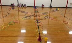 Fun gym games for kids hula hoop 29 ideas Pe Games Elementary, Elementary Physical Education, Physical Education Activities, Pe Activities, Health And Physical Education, Gross Motor Activities, Elementary Schools, Movement Activities, Science Education